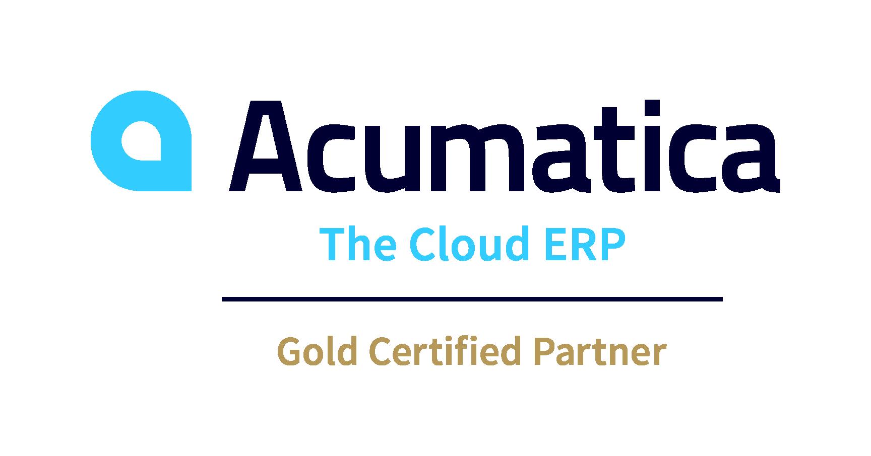 Gold Certified Acumatica Partner
